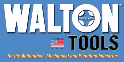 Walton Tools for the automotive, mechanical and plumbing industries
